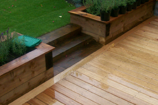 Decking in Enfield